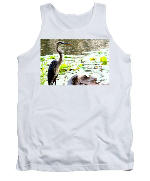 Tank Top featuring the photograph Silent Solitude by Kathy  White