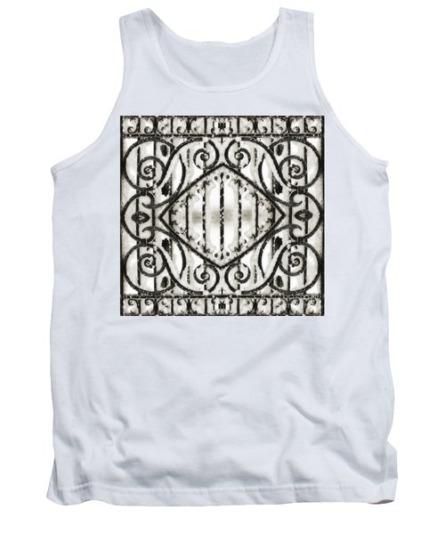 Snowy Forms Tank Top
