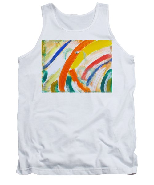 Tank Top featuring the painting Souls by Sonali Gangane