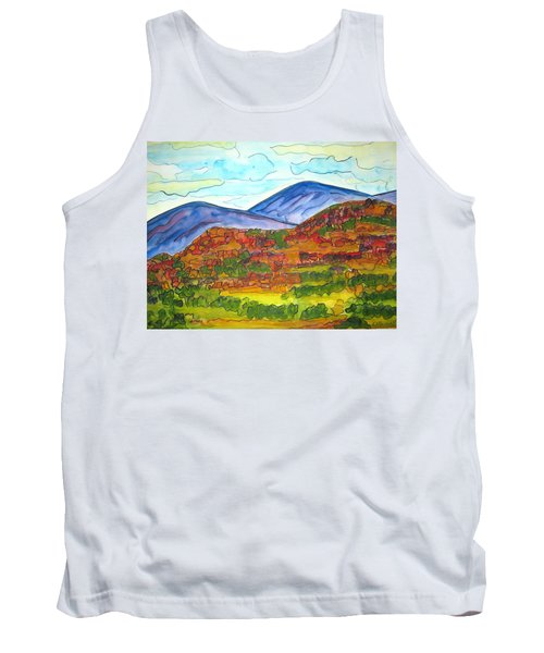 South Mesa Dark Tank Top