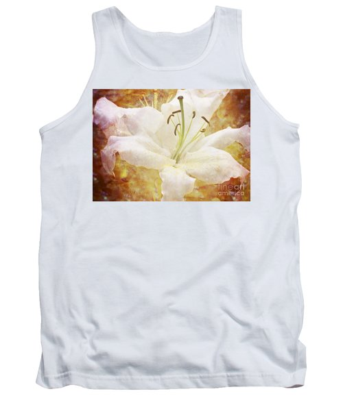 Sparkling Lily Tank Top