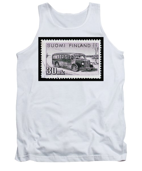 Tank Top featuring the photograph Speedy Old Bus by Andy Prendy