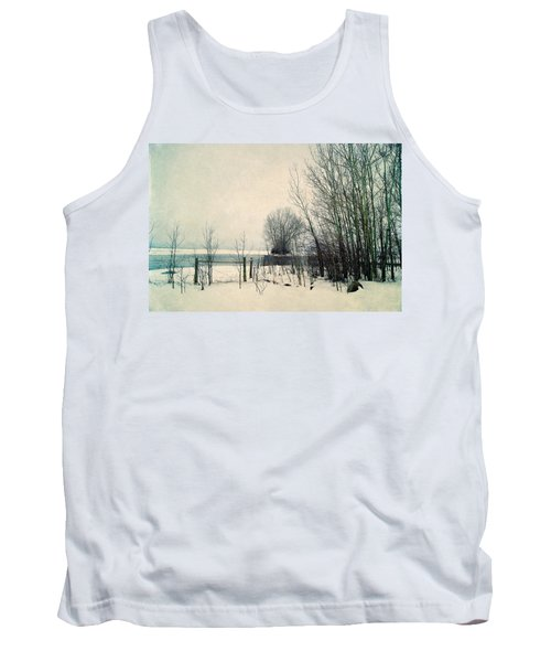 Spring Thaw Tank Top by Leanna Lomanski