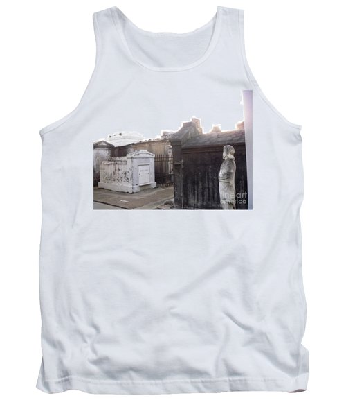 Tank Top featuring the photograph Standing Guard by Alys Caviness-Gober