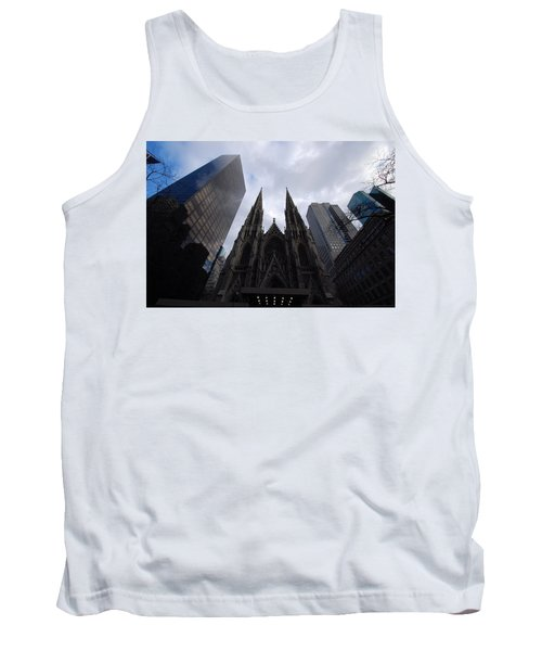 Tank Top featuring the photograph Steeples by John Schneider