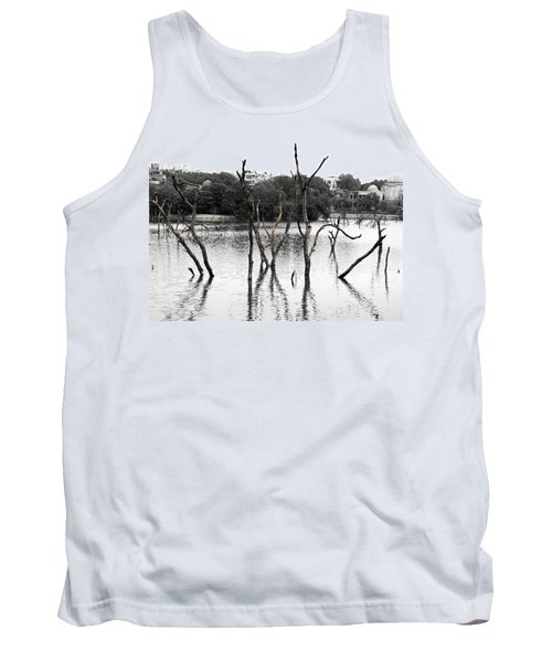 Stomps Of Trees In A Lake Tank Top