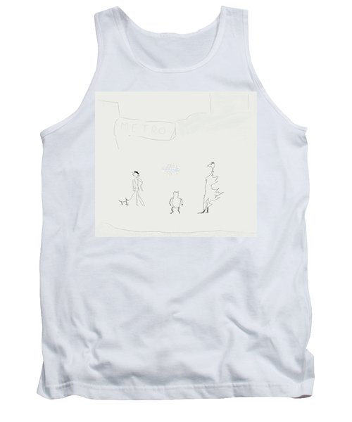 Street Apparition Tank Top