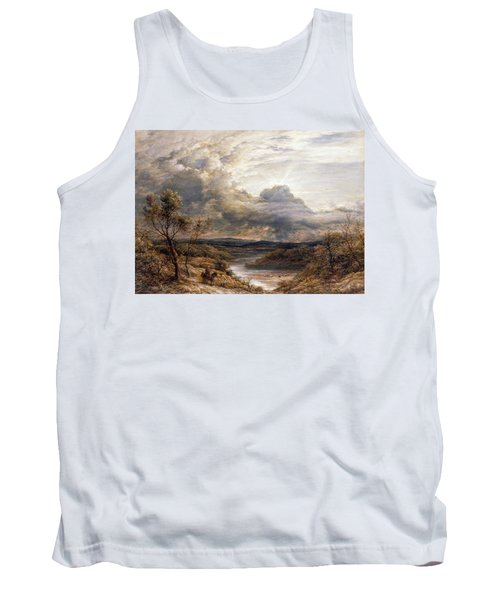 Sun Behind Clouds Tank Top by John Linnell