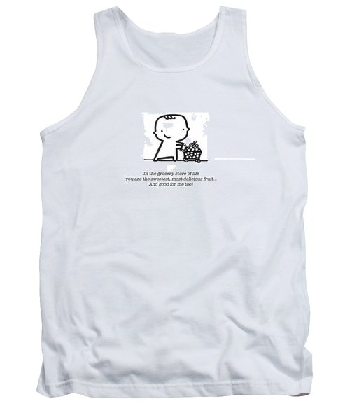 Tank Top featuring the drawing Sweetest Fruit by Leanne Wilkes