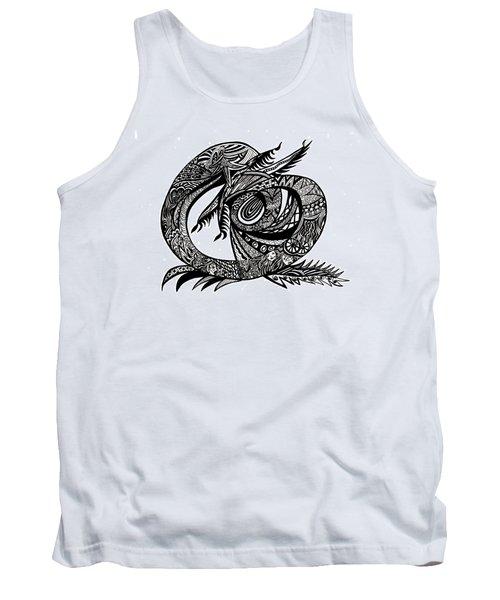 Symbol Of The Dragon Tank Top