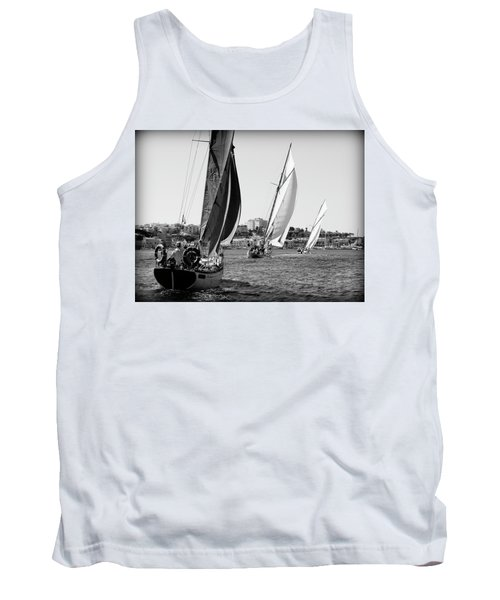 Tank Top featuring the photograph Tall Ship Races 2 by Pedro Cardona