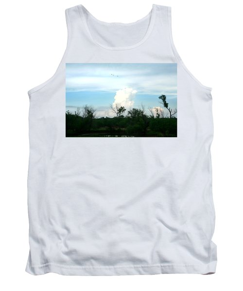 Tank Top featuring the photograph The Back Forty by Lon Casler Bixby