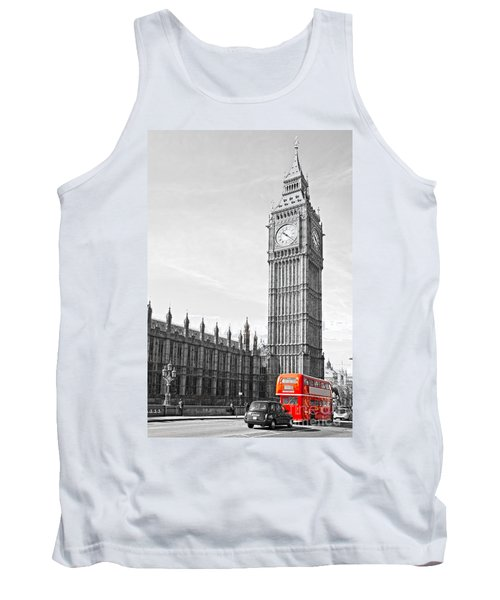 Tank Top featuring the photograph The Big Ben - London by Luciano Mortula