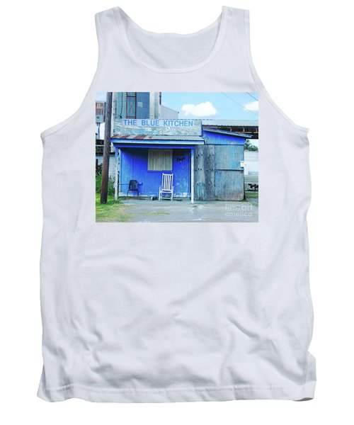The Blue Kitchen Tank Top
