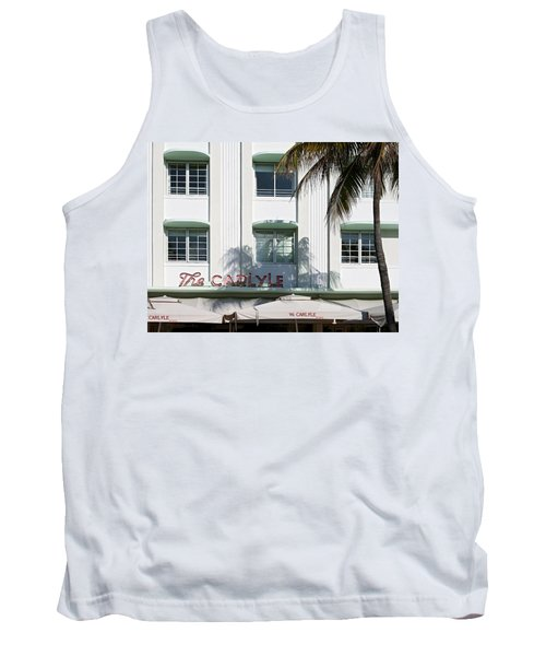 The Carlyle Hotel 2. Miami. Fl. Usa Tank Top