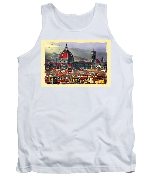 The City Of Florence Tank Top