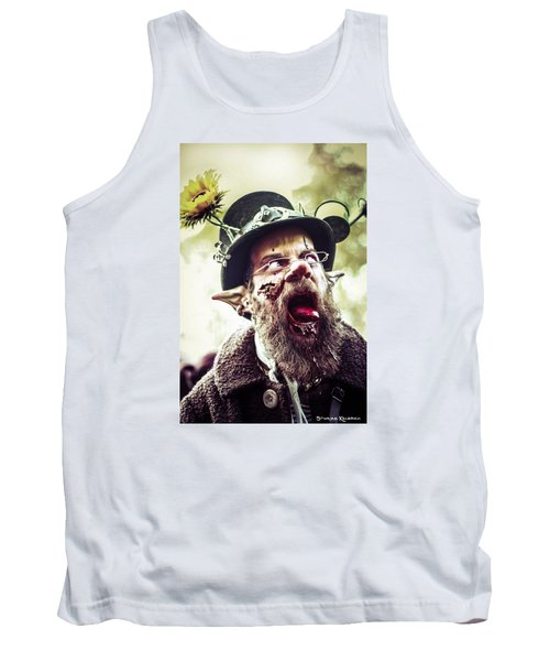 Tank Top featuring the photograph The Fool Goblin by Stwayne Keubrick