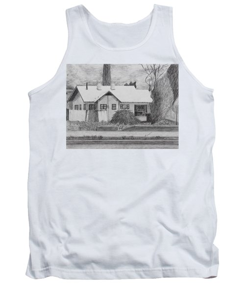 The House Across Tank Top by Kume Bryant