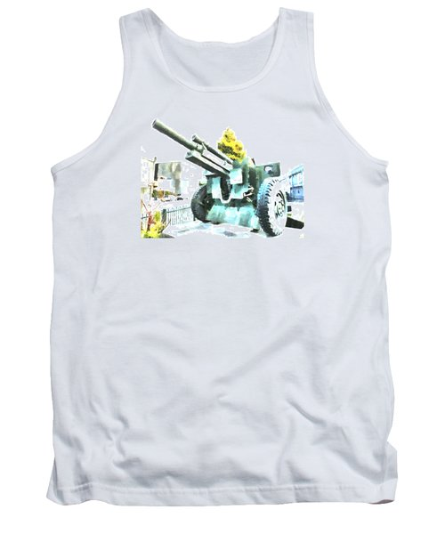 The Howitzer 105mm Field Gun Carriage Tank Top