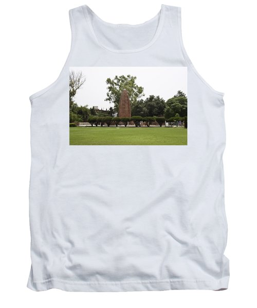 Tank Top featuring the photograph The Jallianwala Bagh Memorial In Amritsar by Ashish Agarwal