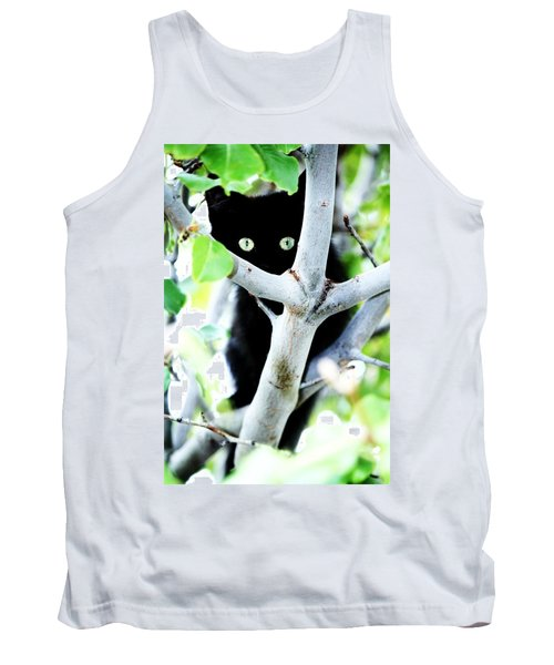 Tank Top featuring the photograph The Little Huntress by Jessica Shelton