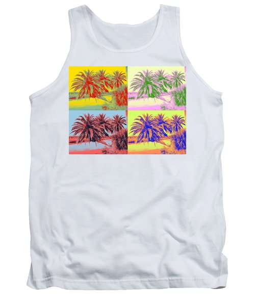 Tank Top featuring the photograph The Loop In Pop Art by Alice Gipson