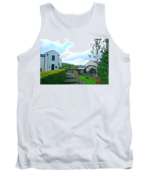Tank Top featuring the photograph The Mill by Charlie and Norma Brock