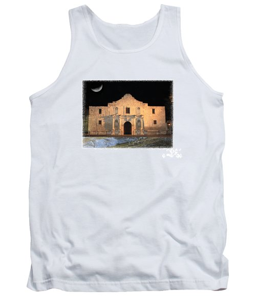 The Tide Is Rising At The Alamo Tank Top
