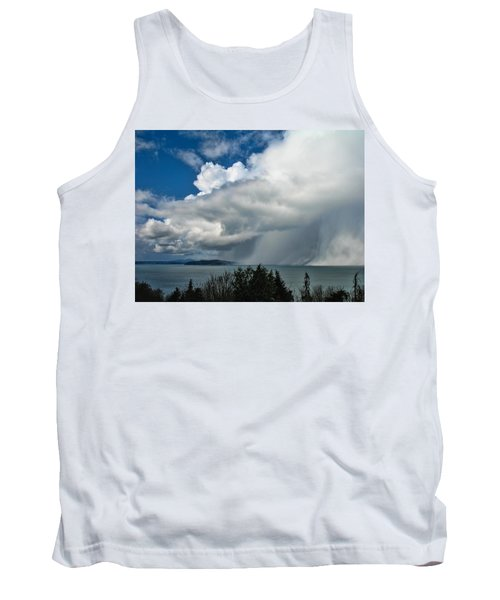 Tank Top featuring the photograph The Wall by David Gleeson