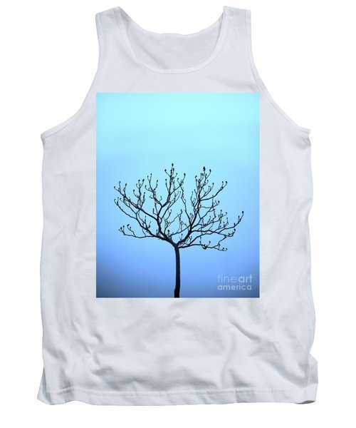 Tree With The Blues Tank Top