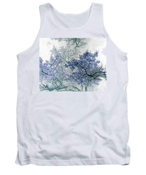 Trees Above Tank Top by Rebecca Margraf