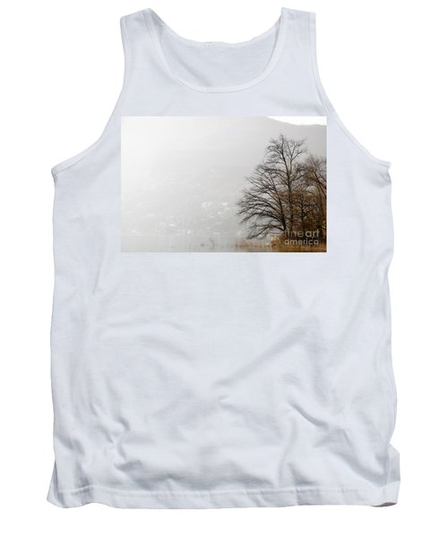 Trees And Pampas Grass Tank Top