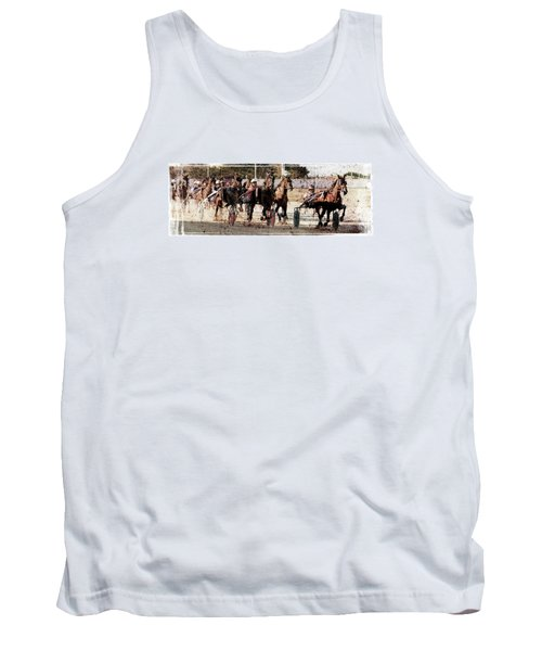 Tank Top featuring the photograph Trotting 3 by Pedro Cardona