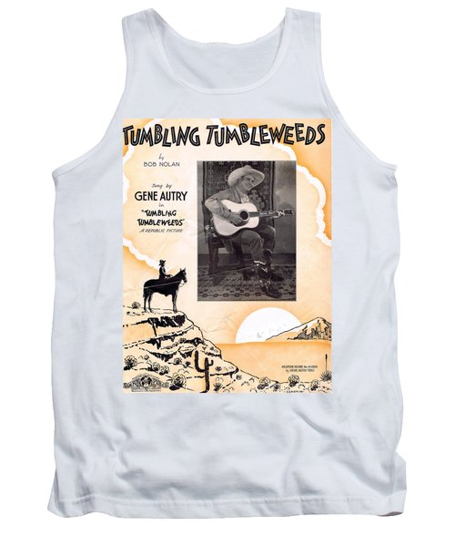 Tumbling Tumbleweeds Tank Top
