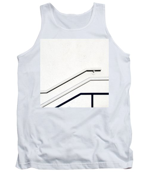 Two Rails Tank Top by CML Brown