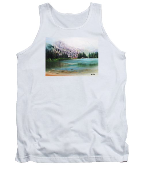 Veil Over Elk Lake Tank Top by Patti Gordon