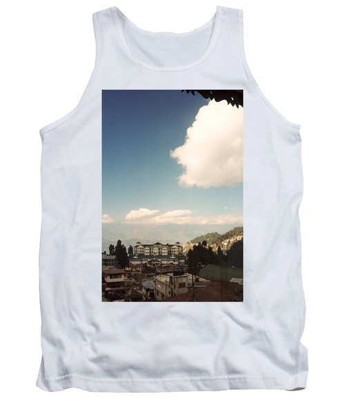Tank Top featuring the photograph View From The Window by Fotosas Photography