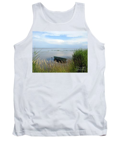 Tank Top featuring the photograph Waiting For The Nightshift by Ausra Huntington nee Paulauskaite