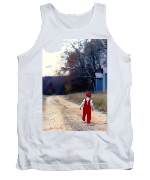 Walking On Pawpaw's Road Tank Top