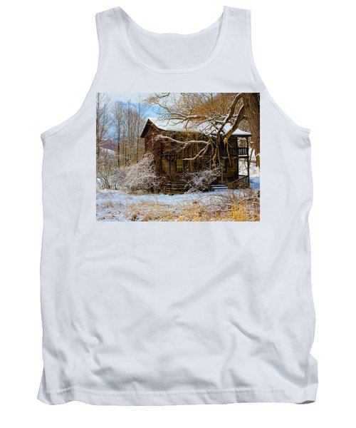 West Virginia Winter Tank Top by Ronald Lutz
