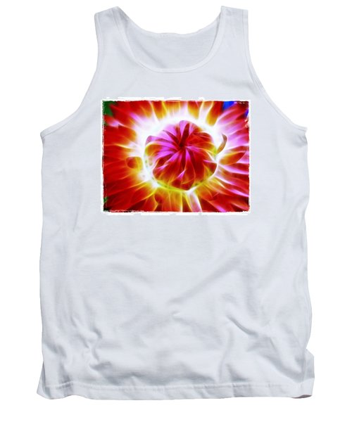 Whirling Tank Top by Judi Bagwell