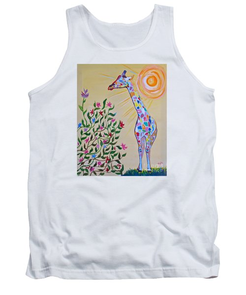 Wild And Crazy Giraffe Tank Top