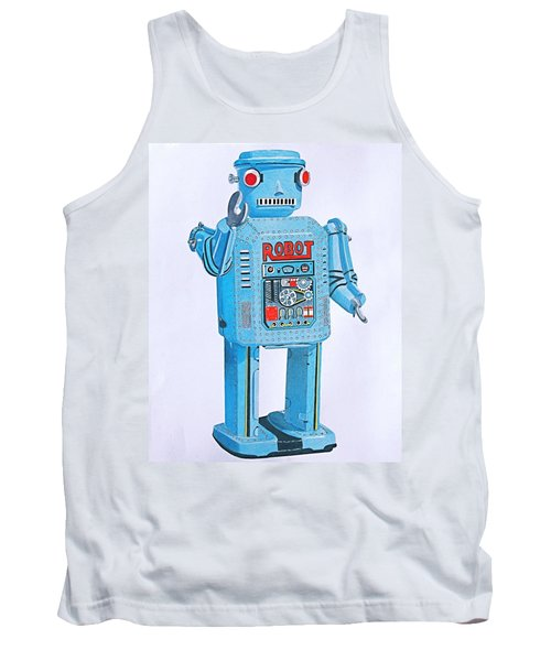 Wind-up Robot Tank Top