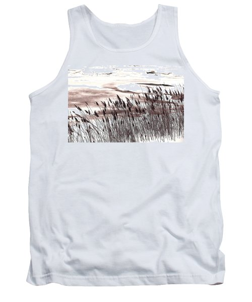Winter Grasses Tank Top