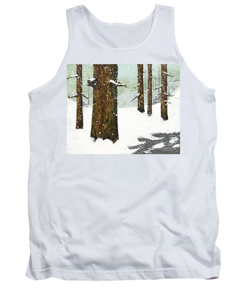 Wintering Pines Tank Top