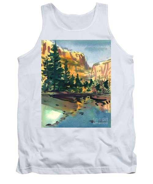 Yosemite Valley In January Tank Top