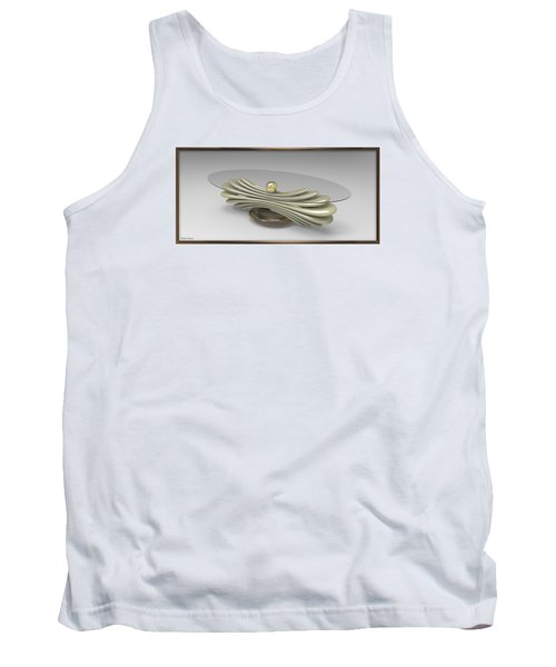 ' A Distorted Spring Table ' Tank Top