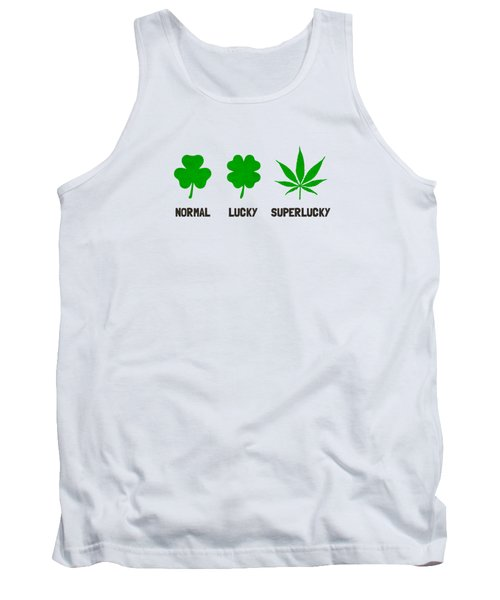 Cannabis   Hemp  420   Marijuana  Pattern Tank Top