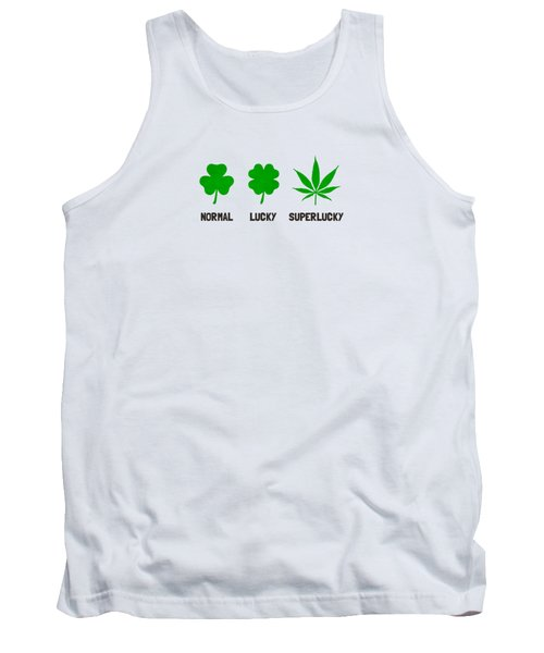 Cannabis   Hemp  420   Marijuana  Pattern Tank Top