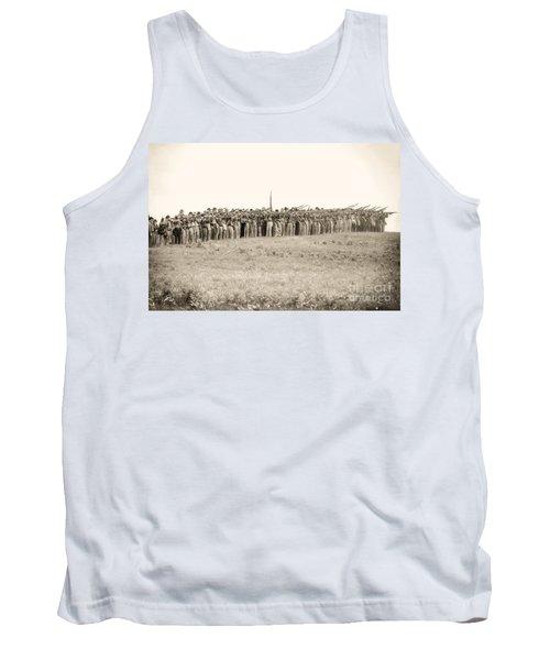 Gettysburg Confederate Infantry 0157s Tank Top
